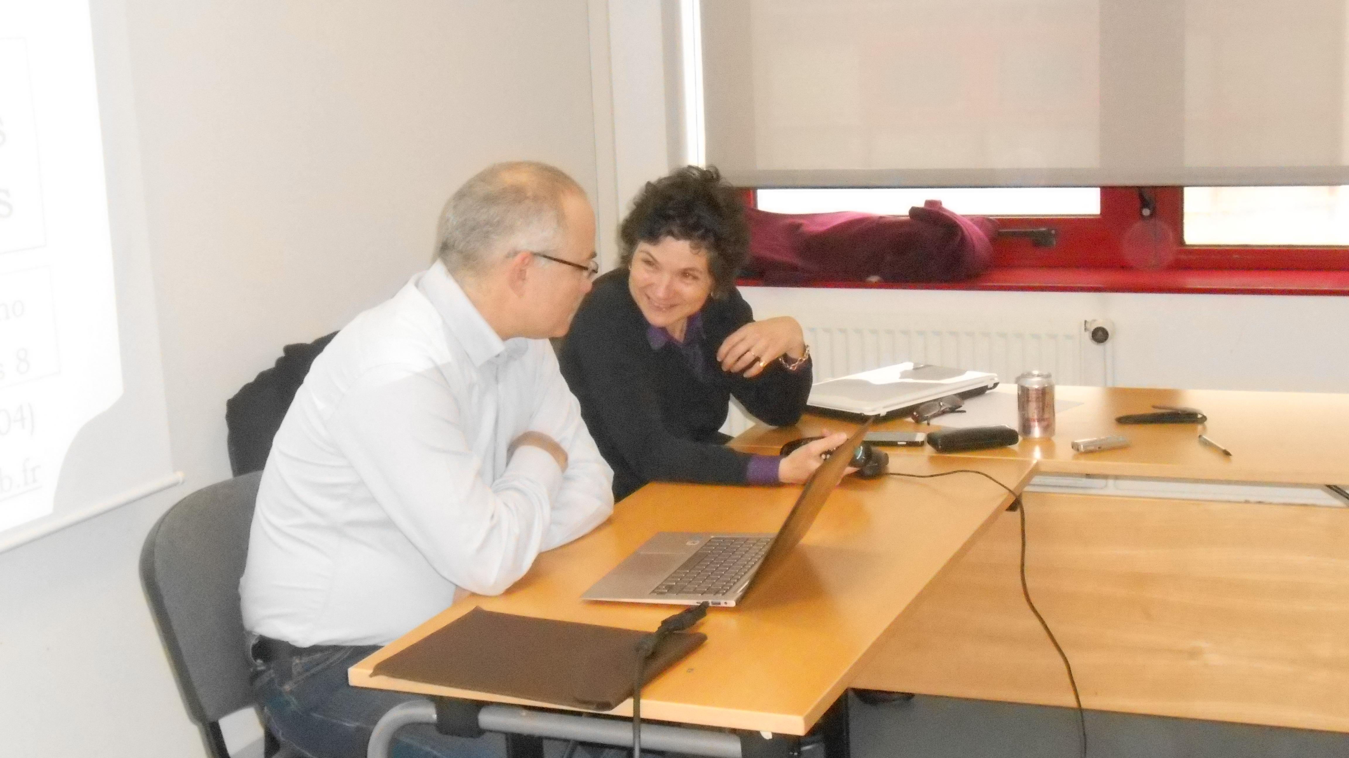 Thierry Baccino et Françoise Paquienséguy